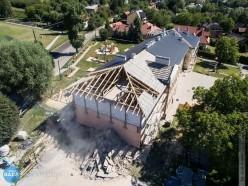 Rozbudowa budynku szkoły wRogóżnie