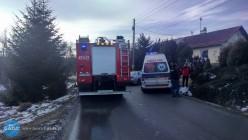 Auto uderzyło wprzepust