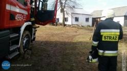 Dwie osoby ranne wpożarze