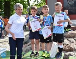 Bieg dzieci zZośką Turosz