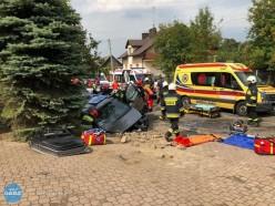 4 osoby ranne wwypadku