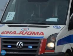 Trzy osoby ranne wwypadku