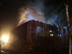 Tragiczny pożar, nie żyje jedna osoba