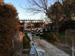 Spłonęła stodoła