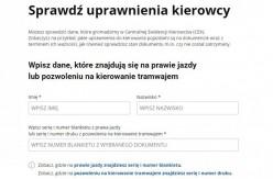 Uprawienia kierowcy na stronie gov.pl