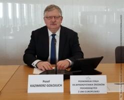 Kazimierz Gołojuch przewodniczącym Podkomisji