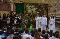 Na jasełkach włańcuckim gimnazjum