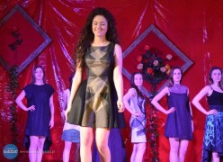 Pokaz mody na Podzwierzyńcu