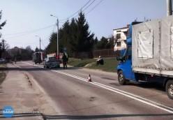 Wypadek na ul. Kraszewskiego