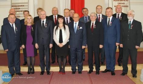 Starosta Łańcucki uhonorowany Odznaką za Zasługi dla Samorządu Terytorialnego