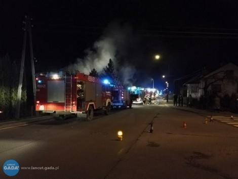 Pożar domu przy ul. Zielonej