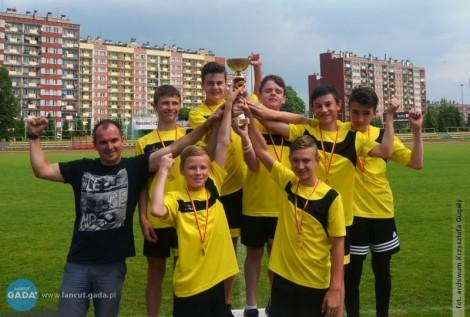 Chłopcy zAlbigowej Mistrzami Województwa wCzwórboju Lekkoatletycznym