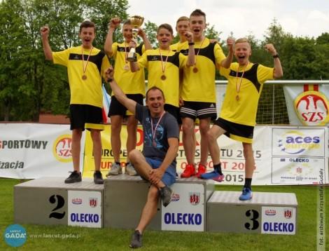 Lekkoatleci zAlbigowej trzecią drużyną wPolsce