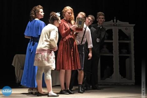 Casting do przedstawienia teatralnego