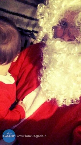 Wizyta Mikołaja w domu Łańcut