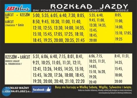 Łańcut-Rzeszów-Łańcut