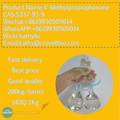 Fabryka 4-metylopropiofenonu 90% 5337-93-9 4-metylopropiofenon +8619930505014