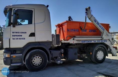Wynajem kontenerów, wywóz odpadów z budowy i remontów