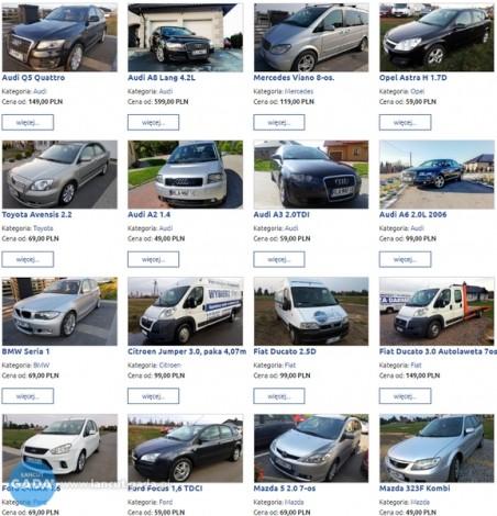 Samochód z OC sprawcy ZA DARMO - Wypożyczalnia MAFIK - tel 790 303 525
