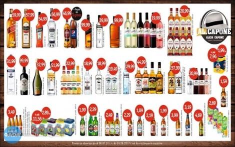 AL.CAPONE - specjaliści od alkoholu. Łańcut ul. Piłsduskiego 23A