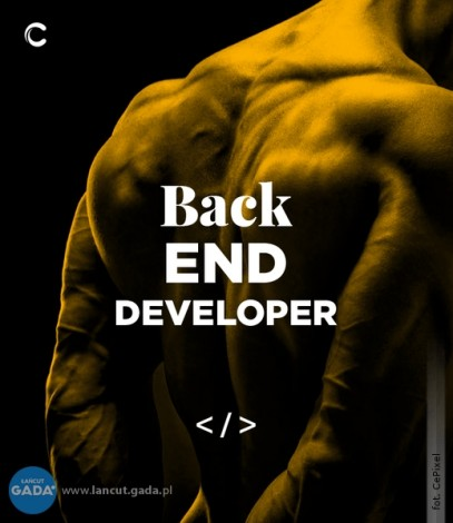 Back-end Developer / Programista Back-endu