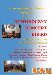Noworoczny Koncert Kolęd - Markowa