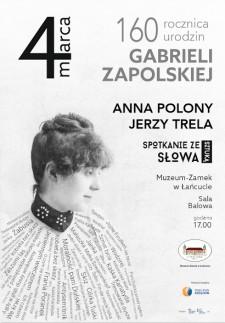 Spotkanie ze sztuką słowa - Anna Polony iJan Niemaszek