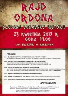 Rajd Ordona - śladami lokalnej historii