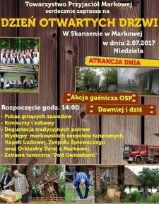 Dzień otwartych drzwi wSkansenie wMarkowej