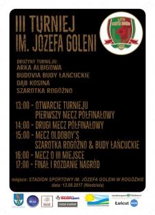 III Turniej im. Józefa Goleni