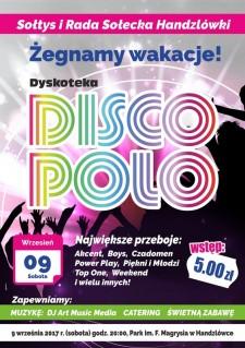 Żegnamy Wakacje wRytm Disco Polo