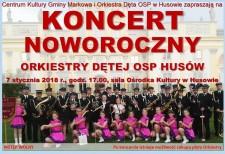 Koncert Noworoczny wHusowie