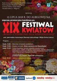 XIX Festiwal Kwiatów wAlbigowej