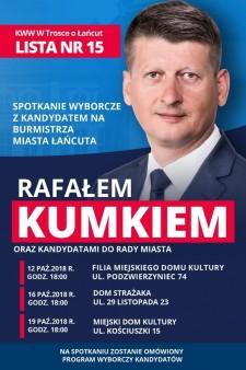 Spotkanie wyborcze zRafałem Kumkiem