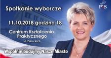 Spotkanie wyborcze zBarbarą Pilawą-Kraus