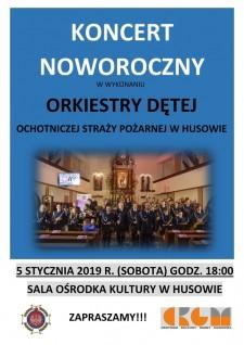 Koncert Noworoczny Orkiestry Dętej OSP wHusowie