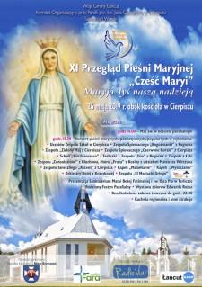 """XI Przegląd Pieśni Maryjnej """"Cześć Maryi"""""""