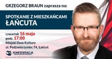 Grzegorz Braun wŁańcucie