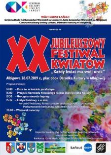 XX Festiwal Kwiatów wAlbigowej