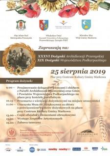 Dożynki Archidiecezji Przemyskiej iWojewództwa Podkarpackiego