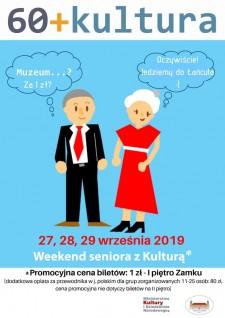 60+ Kultura, czyli weekend Seniora zkulturą