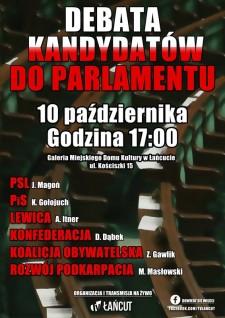 Debata Kandydatów do Parlamentu