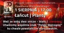 Zapal znicz Powstańcom Warszawskim!