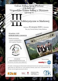 III Spotkanie Folklorystyczne wMarkowej