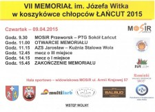 VII Memoriał im. Józefa Witka wkoszykówce chłopców