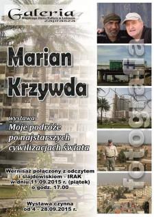 Wystawa fotografii Mariana Krzywdy