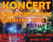 Koncert Noworoczny Orkiestry Dętej wHusowie