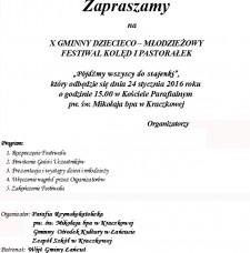 X Gminno-Dziecięcy Festiwal Kolęd iPastorałek