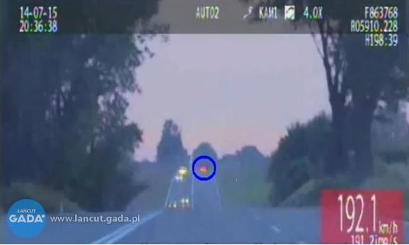 Policja ścigała pirata drogowego! [FILM]