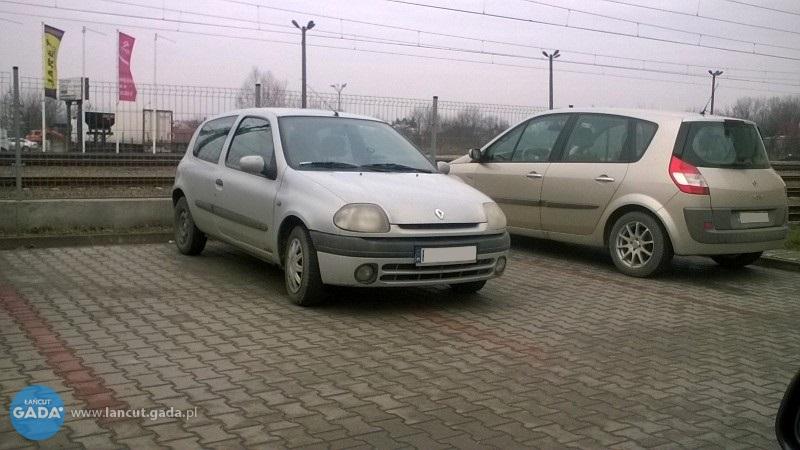 Mistrzowie parkowania - dworzec PKP